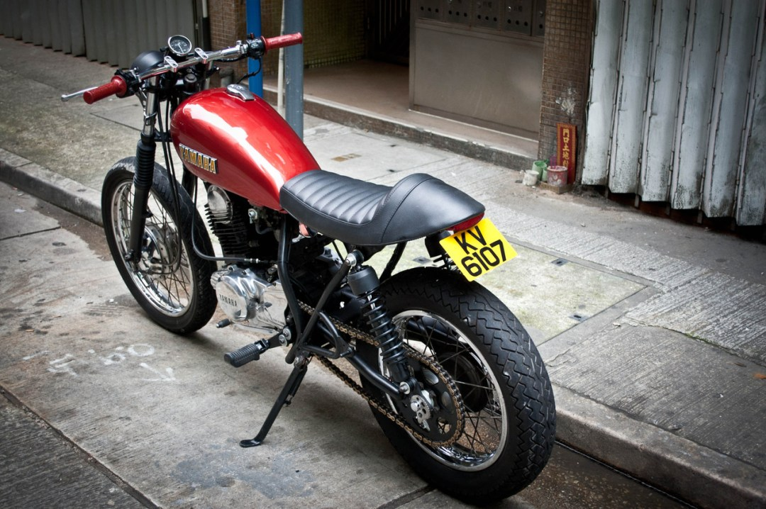 Honda FTR Tracker named Yakuza :: via Garage Project Motorcycles