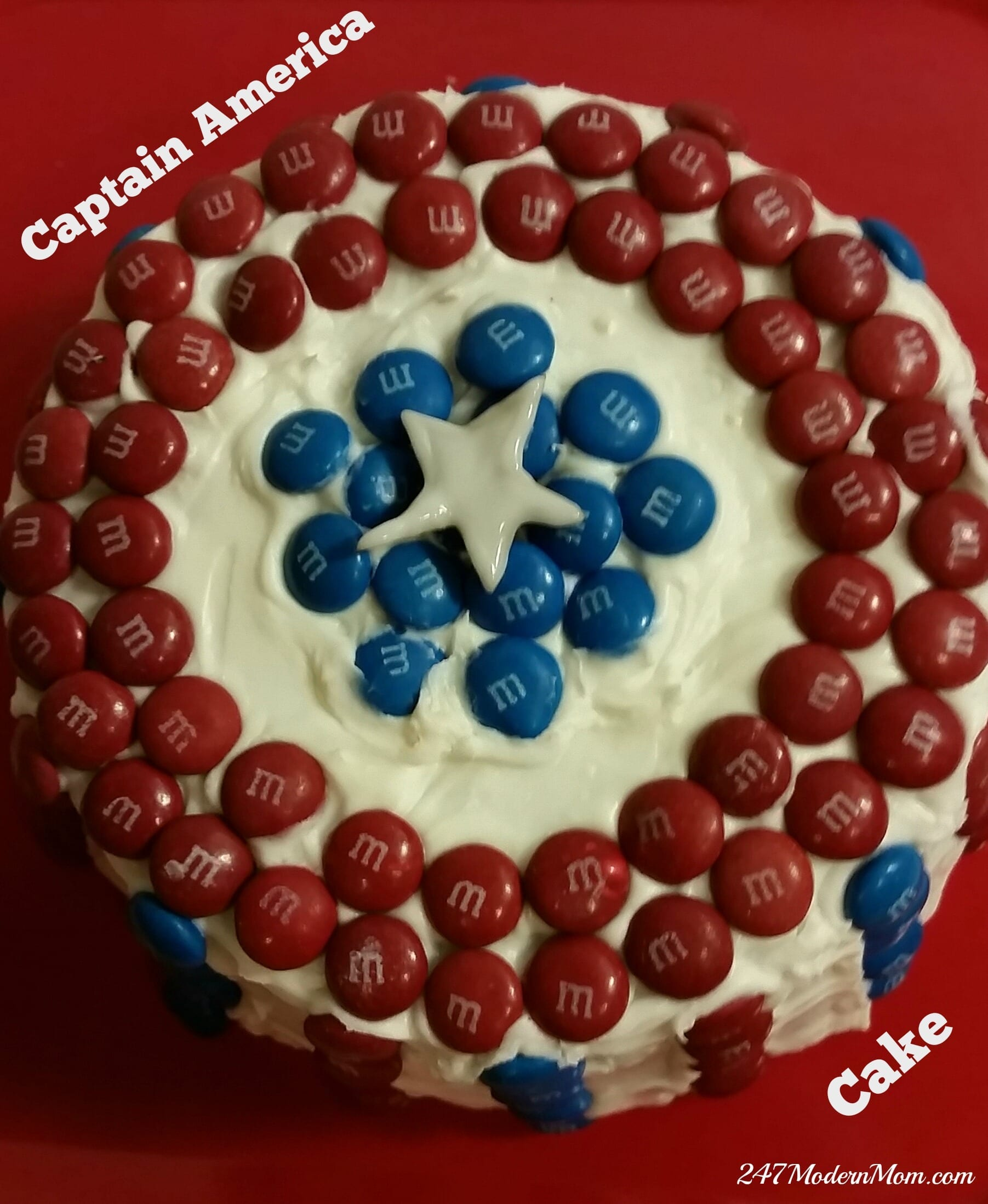 Captain America Kuchen Easiest Captain America Cake Decoration Plus Ten 100 Gift Cards