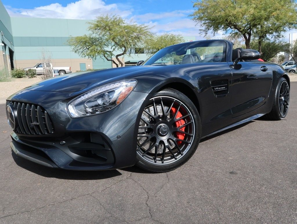 Mercedes Amg Gt C Roadster 2017 Great 2018 Mercedes Benz Amg Gt C Convertible Amg Gt C Roadster High Option Selenite Grey Metallic Over Red Convertible 2017 2017 2018