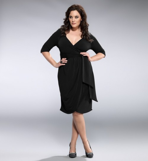 Medium Of Plus Size Wrap Dress