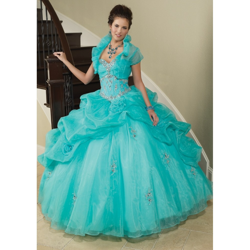 how to get a perfect turquoise quinceanera dresses turquoise wedding dresses How to get a perfect Turquoise Quinceanera Dresses