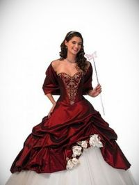Red And Black Victorian Dress - 24 Dressi