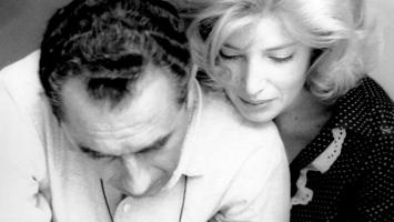 Michelangelo Antonioni and Monica Vitti, c. 1960
