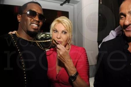 Ivana Trump & P. Diddy