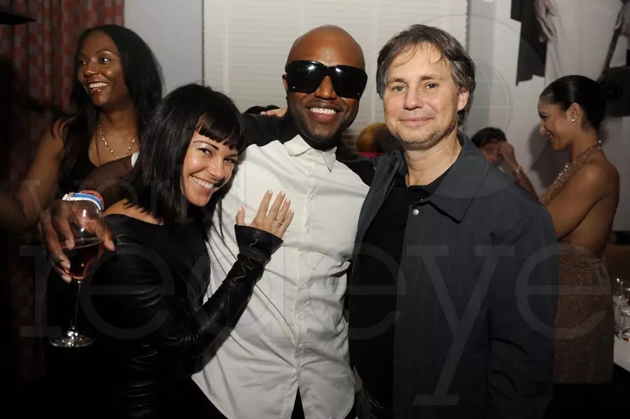 (Left to right) Anne Owen, Rico Love, & Jason Binn