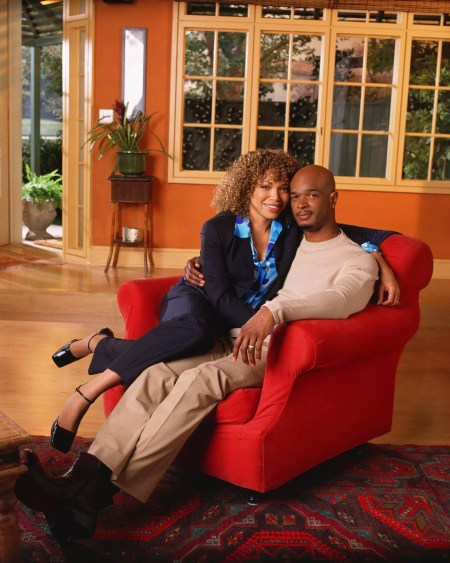 Damon Wayans & Tisha Campbell-Martin as husband & wife, Claire and Michael Kyle.