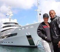 Take a look at how Dr Dre is spending some of that new money he earned from the sale of his Beats by Dre headphones deal with apple  #24hourhiphop