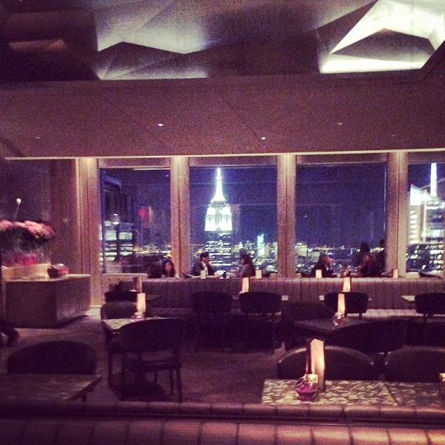 New #rainbowroom at #rockefellercenter #rfc with Dj @keiichironakajima