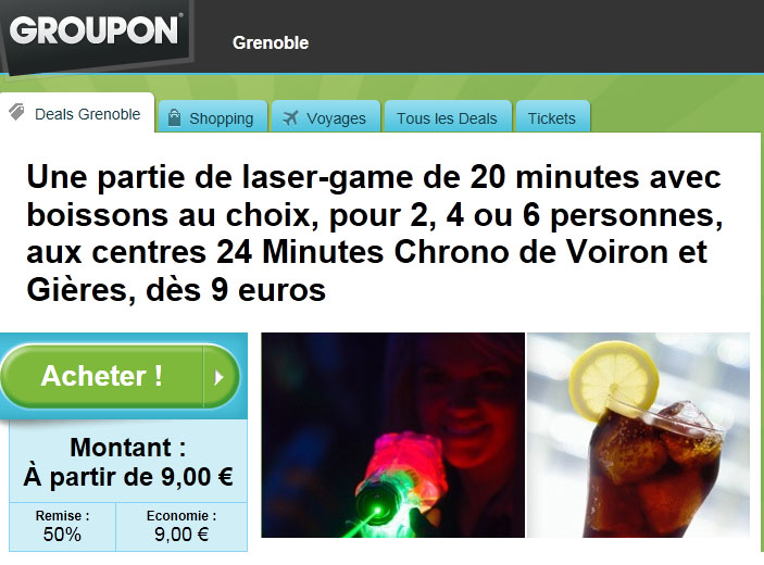 Annuler Une Commande Groupon Groupon – Notre Offre | Laser Games - 24 Minutes Chrono