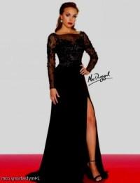 Black long sleeve prom dress 2017-2018 | B2B Fashion