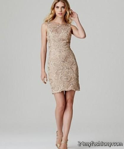 Ladies Dresses Beige Lace Dresses Looks | B2b Fashion