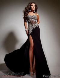 black elegant prom dress 2016-2017 | B2B Fashion