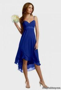 cobalt blue chiffon bridesmaid dresses 2016-2017 | B2B Fashion