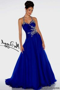 cobalt blue prom dress 2016