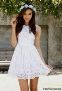 Cute white dresses for confirmation 2017-2018 | B2B Fashion