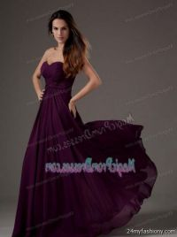 dark purple prom dress lace 2016-2017 | B2B Fashion