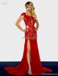 dark red prom dress 2016-2017 | B2B Fashion