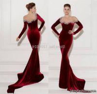 dark red prom dresses 2016-2017 | B2B Fashion