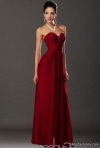 Dark Red Evening Gowns | www.imgkid.com - The Image Kid ...