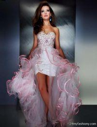 light pink high low prom dresses 2016-2017 | B2B Fashion