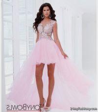 light pink prom dresses high low 2016-2017 | B2B Fashion