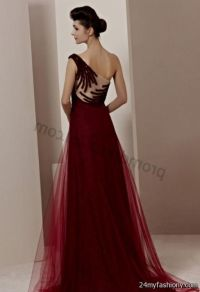 long dark red prom dresses with sleeves 2016-2017 | B2B ...