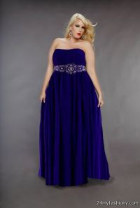 2015 prom dresses under 100 seventeen long purple prom ...