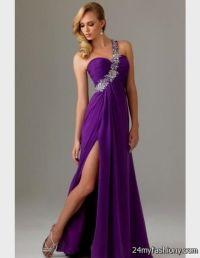 long purple prom dresses under 100 2016-2017 | B2B Fashion