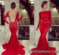 maroon prom dresses tumblr 2016-2017   B2B Fashion