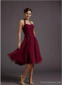 merlot bridesmaid dresses 2016-2017 | B2B Fashion