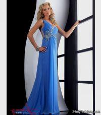 periwinkle prom dress with straps 2016-2017   B2B Fashion
