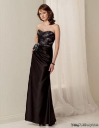 Purple And Black Bridesmaid Dresses - Cheap Wedding Dresses