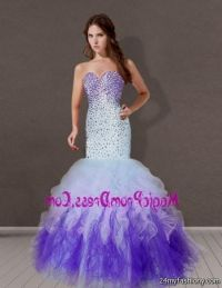 purple mermaid prom dresses 2016-2017 | B2B Fashion