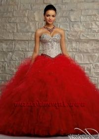 Quinceanera Dresses red and gold 2016-2017  B2B Fashion