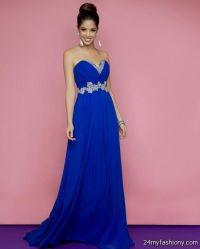 royal blue and silver bridesmaid dresses 2016-2017 | B2B ...