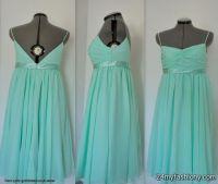 seafoam green chiffon bridesmaid dresses 2016-2017 | B2B ...