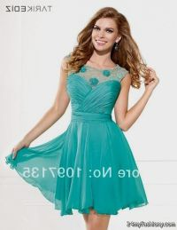 short teal lace bridesmaid dresses 2016-2017 | B2B Fashion