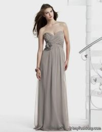 taupe chiffon bridesmaid dresses 2016-2017 | B2B Fashion