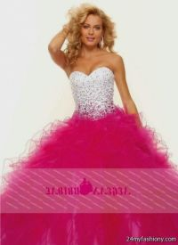 White And Pink Prom Dresses - Boutique Prom Dresses