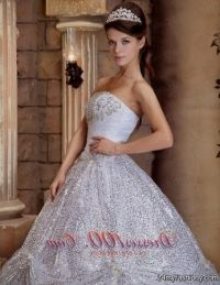 white and silver quince dresses 2016