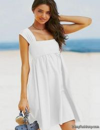 white casual beach dresses 2016-2017 | B2B Fashion