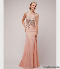 blush prom dress gold 2016-2017 | B2B Fashion