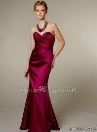 dark magenta bridesmaid dresses 2016-2017 | B2B Fashion