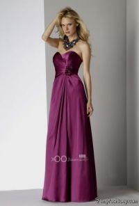 Dark Magenta Bridesmaid Dresses | www.imgkid.com - The ...
