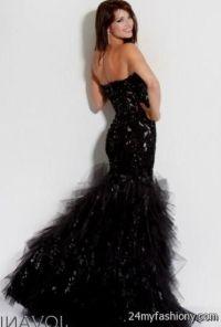 jovani black mermaid prom dress 2016-2017   B2B Fashion