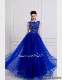 prom dresses royal blue 2016