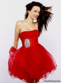 short dark red prom dress 2016-2017 | B2B Fashion
