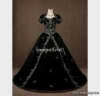 silver and black wedding dresses 2016-2017   B2B Fashion