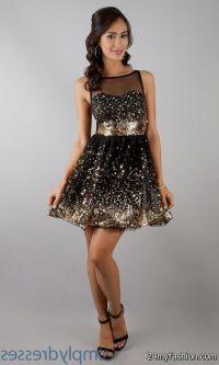Black And Gold Party Dress | www.pixshark.com - Images ...