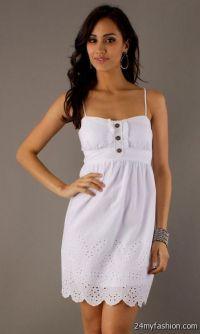 casual white summer dresses 2016-2017 | B2B Fashion
